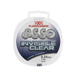 Asso - ASSO INVISIBLE CLEAR %100 FLUOROCARBON
